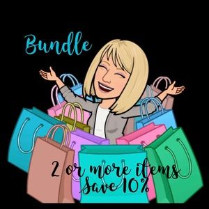 Other - Bundle 2 or more items, get 10% off!